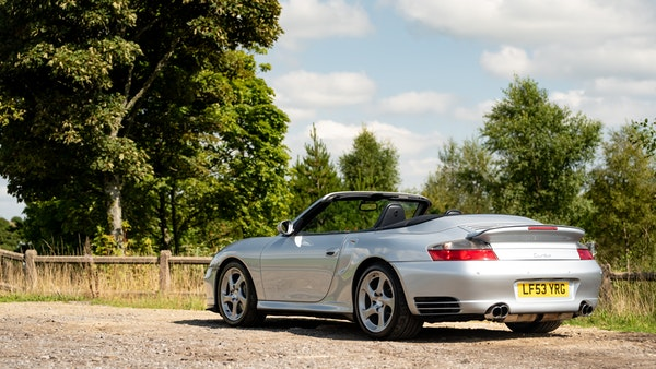 2003 Porsche 911 (996) Turbo Cabriolet For Sale (picture 19 of 91)
