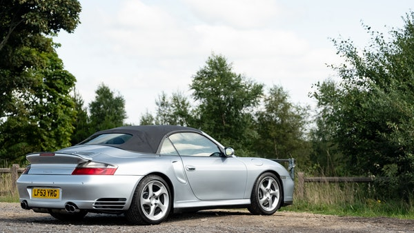2003 Porsche 911 (996) Turbo Cabriolet For Sale (picture 20 of 91)