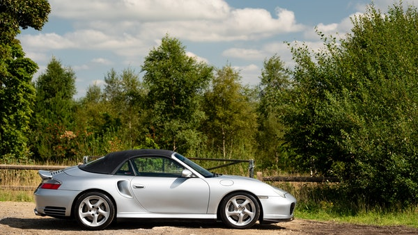 2003 Porsche 911 (996) Turbo Cabriolet For Sale (picture 30 of 91)