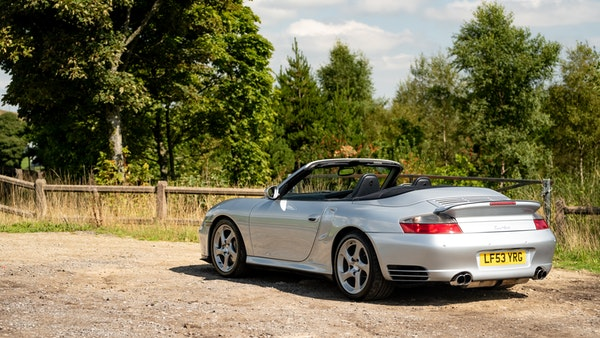 2003 Porsche 911 (996) Turbo Cabriolet For Sale (picture 18 of 91)