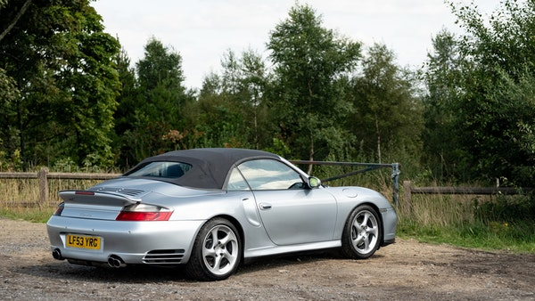 2003 Porsche 911 (996) Turbo Cabriolet For Sale (picture 21 of 91)