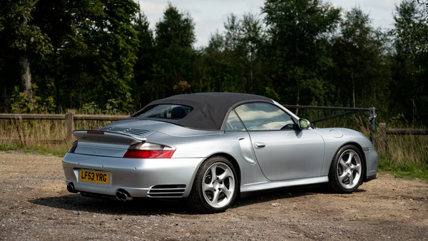 2003 Porsche 911 (996) Turbo Cabriolet For Sale (picture 22 of 91)