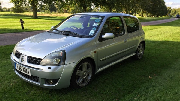 2001 Renaultsport Clio 172 For Sale (picture 1 of 71)