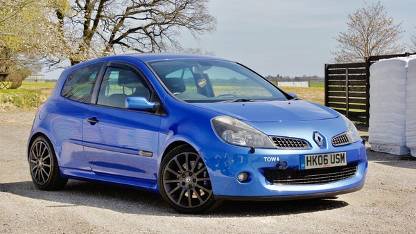 NO RESERVE! 2006 RenaultSport 197 Clio For Sale (picture 1 of 76)