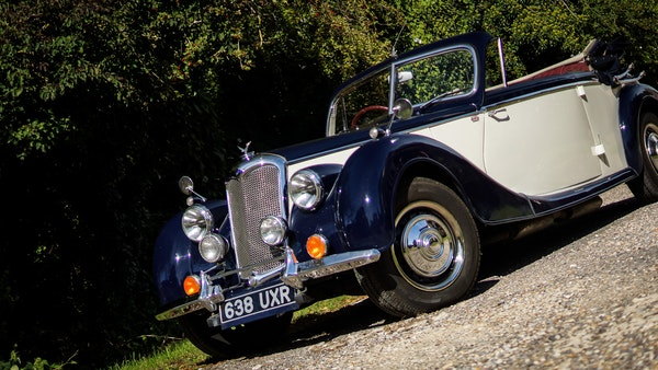 RESERVE REMOVED 1950 Riley RMD Drophead For Sale (picture 21 of 158)