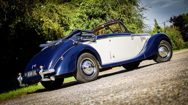RESERVE REMOVED 1950 Riley RMD Drophead For Sale (picture 16 of 158)