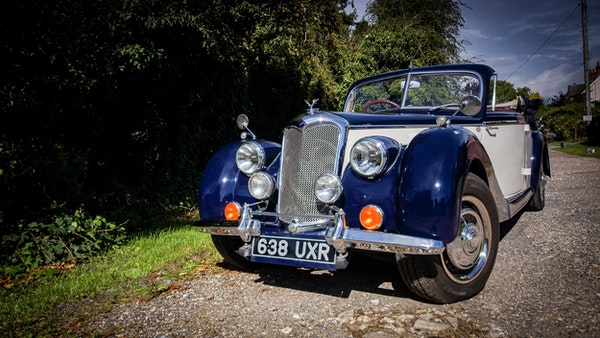 RESERVE REMOVED 1950 Riley RMD Drophead For Sale (picture 24 of 158)