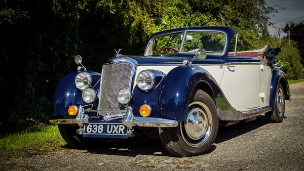 RESERVE REMOVED 1950 Riley RMD Drophead For Sale (picture 11 of 158)