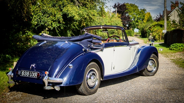 RESERVE REMOVED 1950 Riley RMD Drophead For Sale (picture 6 of 158)