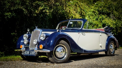 1950 Riley RMD Drophead