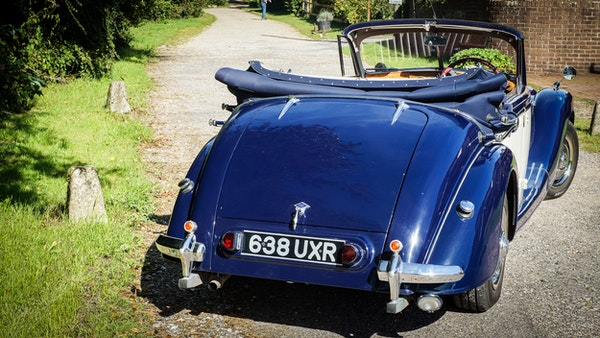 RESERVE REMOVED 1950 Riley RMD Drophead For Sale (picture 17 of 158)