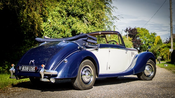 RESERVE REMOVED 1950 Riley RMD Drophead For Sale (picture 12 of 158)