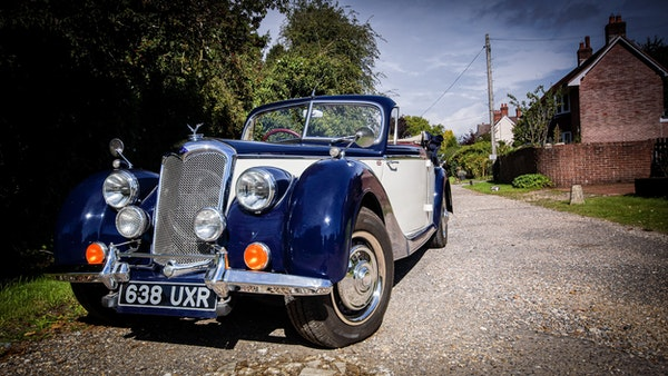 RESERVE REMOVED 1950 Riley RMD Drophead For Sale (picture 9 of 158)