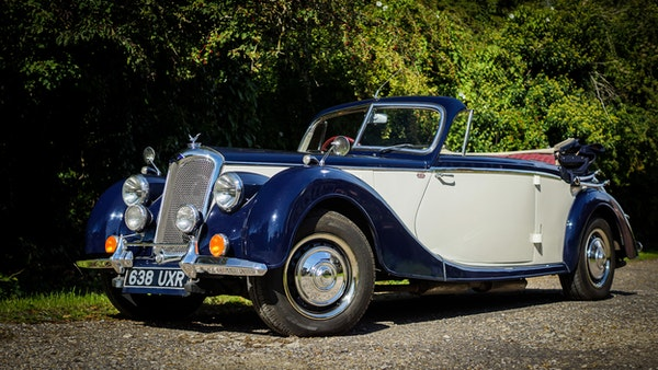 RESERVE REMOVED 1950 Riley RMD Drophead For Sale (picture 10 of 158)