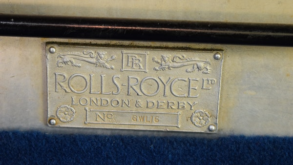 RESERVE LOWERED - 1928 Rolls Royce 20HP Limousine by Park Ward For Sale (picture 54 of 103)