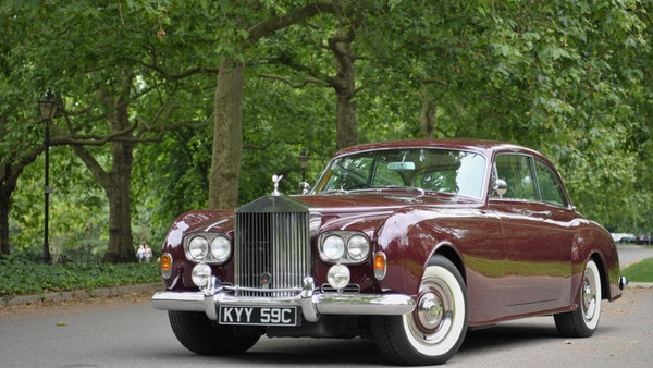 1965 Rolls-Royce Silver Cloud III Two-Door Coupe by James Young For Sale (picture 12 of 146)