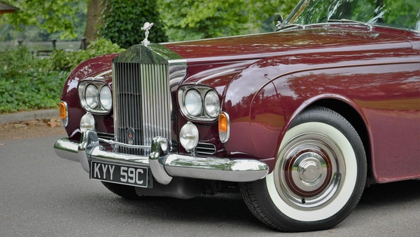 1965 Rolls-Royce Silver Cloud III Two-Door Coupe by James Young For Sale (picture 82 of 146)