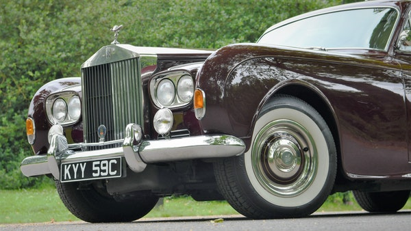 1965 Rolls-Royce Silver Cloud III Two-Door Coupe by James Young For Sale (picture 88 of 146)