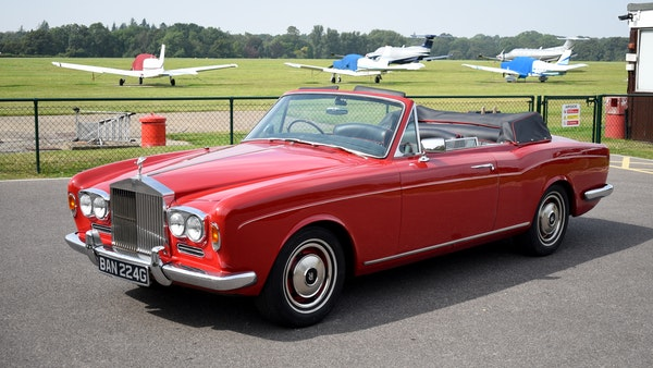 1968 Rolls-Royce Silver Shadow Drophead Coupé by Mulliner Park Ward For Sale (picture 4 of 159)
