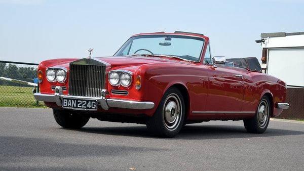 1968 Rolls-Royce Silver Shadow Drophead Coupé by Mulliner Park Ward For Sale (picture 1 of 159)