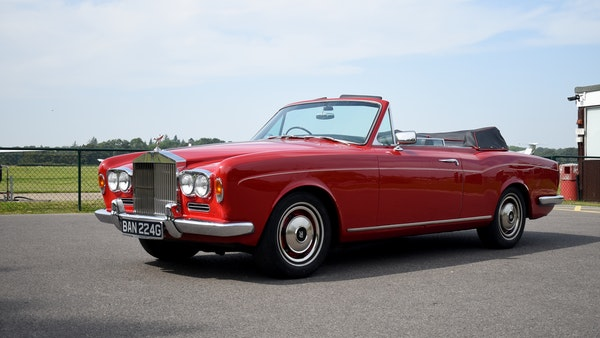 1968 Rolls-Royce Silver Shadow Drophead Coupé by Mulliner Park Ward For Sale (picture 3 of 159)