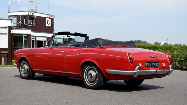 1968 Rolls-Royce Silver Shadow Drophead Coupé by Mulliner Park Ward For Sale (picture 19 of 159)