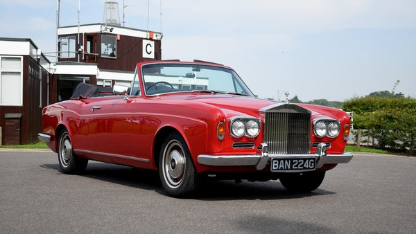 1968 Rolls-Royce Silver Shadow Drophead Coupé by Mulliner Park Ward For Sale (picture 10 of 159)