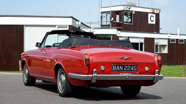 1968 Rolls-Royce Silver Shadow Drophead Coupé by Mulliner Park Ward For Sale (picture 16 of 159)