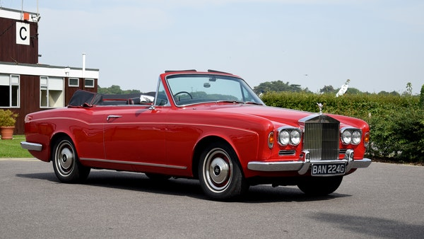 1968 Rolls-Royce Silver Shadow Drophead Coupé by Mulliner Park Ward For Sale (picture 7 of 159)