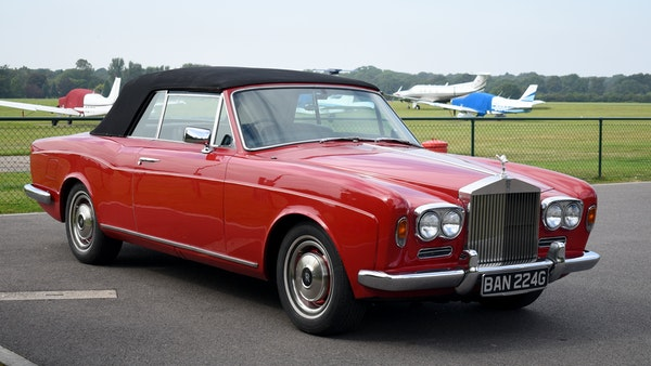 1968 Rolls-Royce Silver Shadow Drophead Coupé by Mulliner Park Ward For Sale (picture 13 of 159)