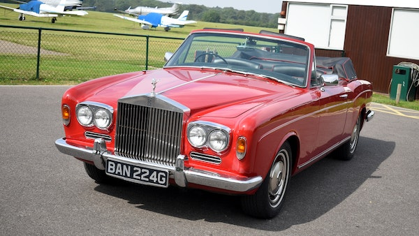 1968 Rolls-Royce Silver Shadow Drophead Coupé by Mulliner Park Ward For Sale (picture 9 of 159)