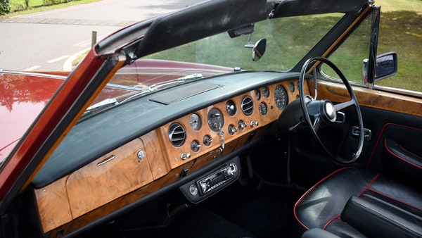 1968 Rolls-Royce Silver Shadow Drophead Coupé by Mulliner Park Ward For Sale (picture 35 of 159)