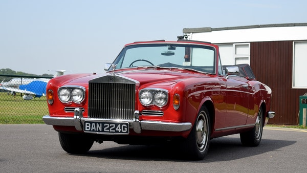 1968 Rolls-Royce Silver Shadow Drophead Coupé by Mulliner Park Ward For Sale (picture 5 of 159)