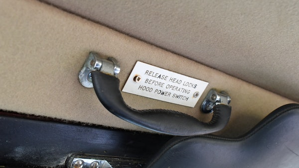 1968 Rolls-Royce Silver Shadow Drophead Coupé by Mulliner Park Ward For Sale (picture 125 of 159)