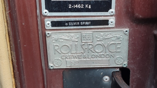 1981 Rolls Royce Silver Spirit For Sale (picture 103 of 147)
