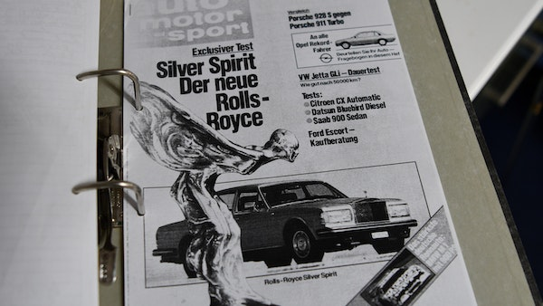 1982 Rolls-Royce Silver Spirit For Sale (picture 163 of 164)