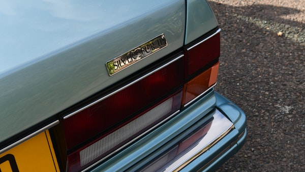 RESERVE REMOVED - 1991 Rolls-Royce Silver Spur II For Sale (picture 118 of 195)