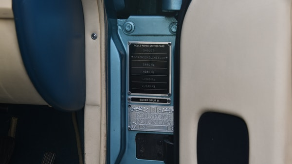 RESERVE REMOVED - 1991 Rolls-Royce Silver Spur II For Sale (picture 111 of 195)