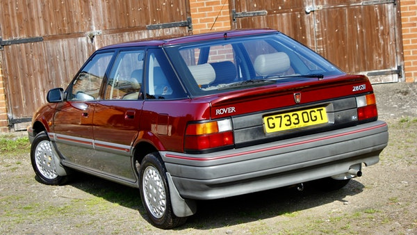 1990 Rover 216 GSi For Sale (picture 31 of 114)