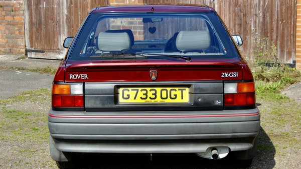 1990 Rover 216 GSi For Sale (picture 15 of 114)