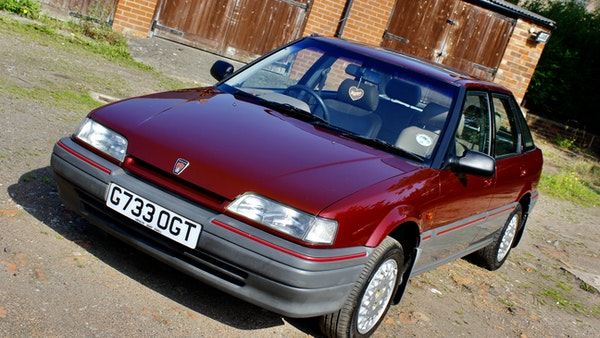 1990 Rover 216 GSi For Sale (picture 7 of 114)