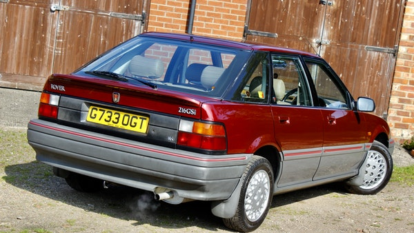 1990 Rover 216 GSi For Sale (picture 22 of 114)