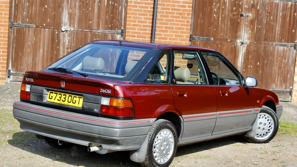 1990 Rover 216 GSi For Sale (picture 30 of 114)