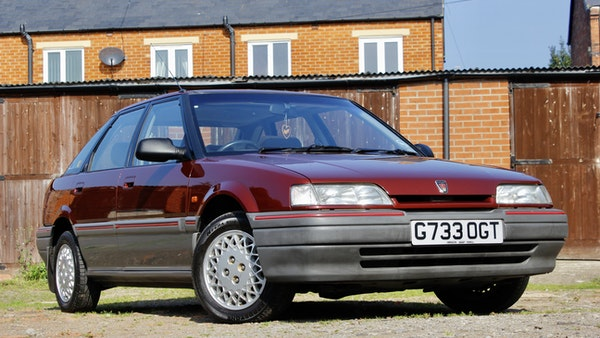 1990 Rover 216 GSi For Sale (picture 20 of 114)