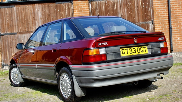 1990 Rover 216 GSi For Sale (picture 33 of 114)