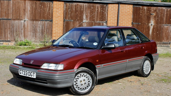 1990 Rover 216 GSi For Sale (picture 23 of 114)