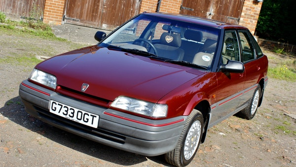1990 Rover 216 GSi For Sale (picture 11 of 114)