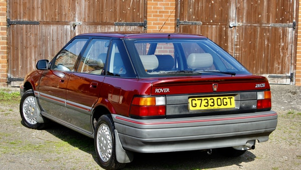 1990 Rover 216 GSi For Sale (picture 6 of 114)
