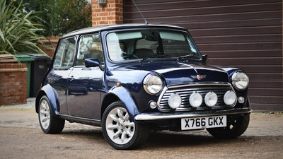 "2000 Rover Mini Cooper ""S Works"""