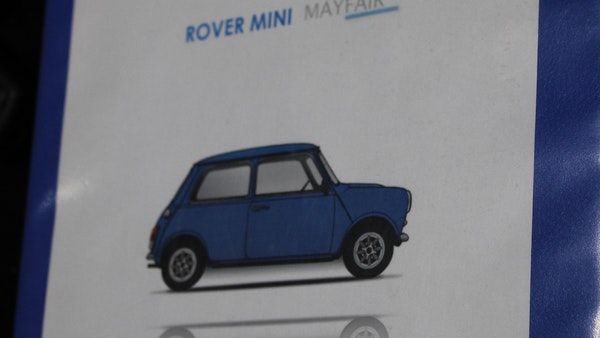 NO RESERVE! 1991 Rover Mini Mayfair For Sale (picture 90 of 90)
